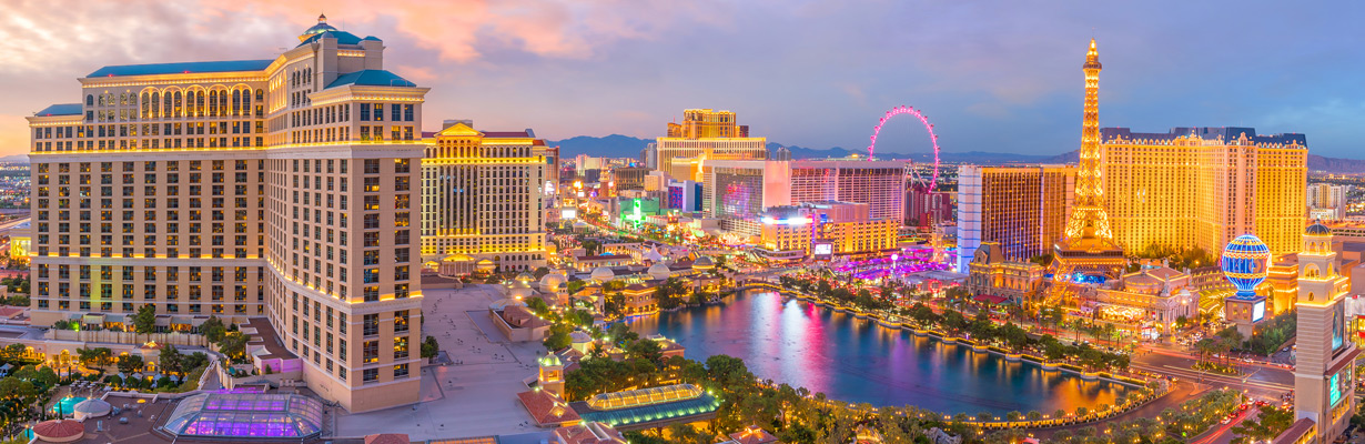 Las Vegas, one of the top cities for free things to do with kids.